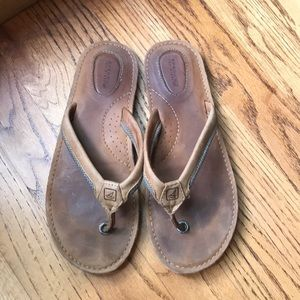 Sperry top sider sandals size 7 1/2
